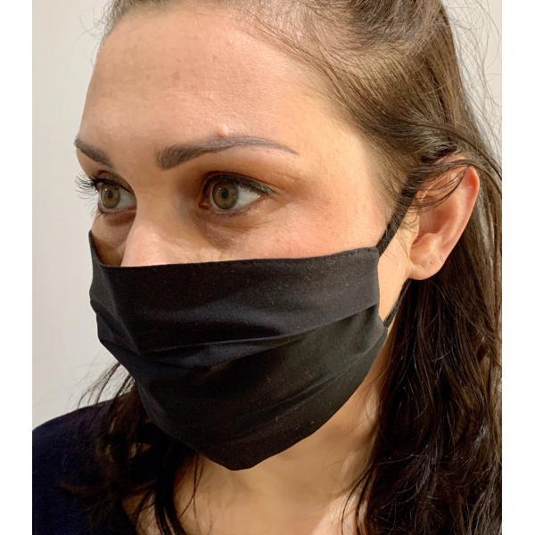 Czarna maska ochronna  damska