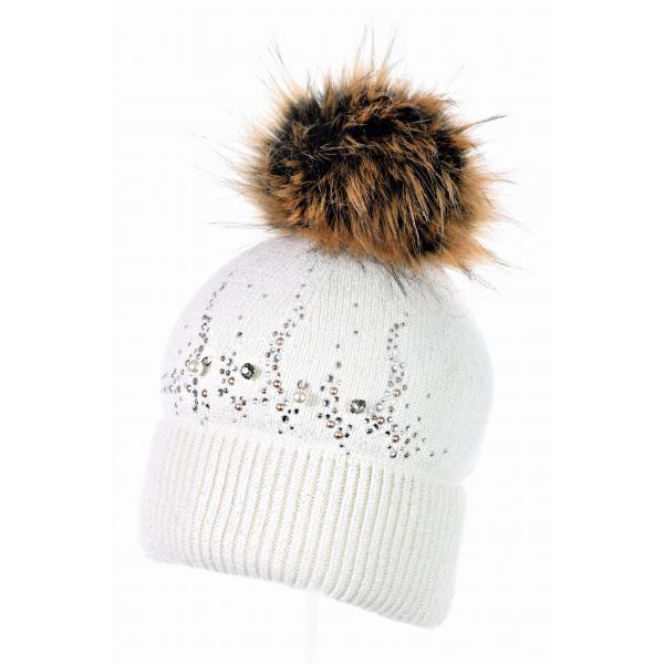 Zimowa czapka dla dziewczynki Kalandra Jamiks