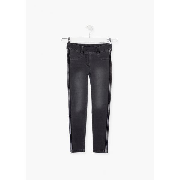 Spodnie jegginsy z lapmasami  024-6026 Losan