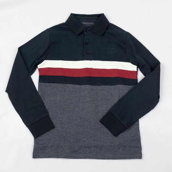 Koszula polo z długim rękawem Losan 023-1080AL