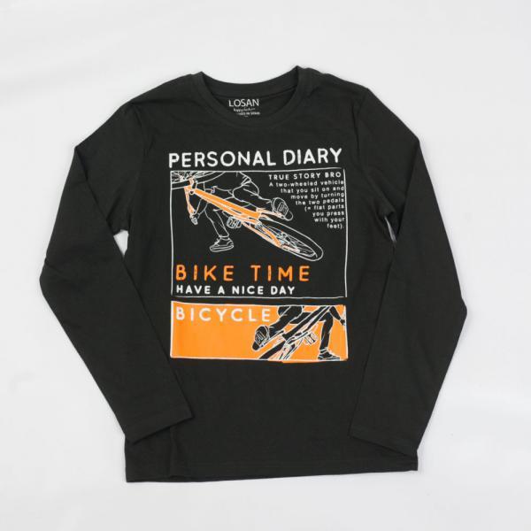 Chłopięcy T-shirt z długim rękawem 023-1202AL Losan