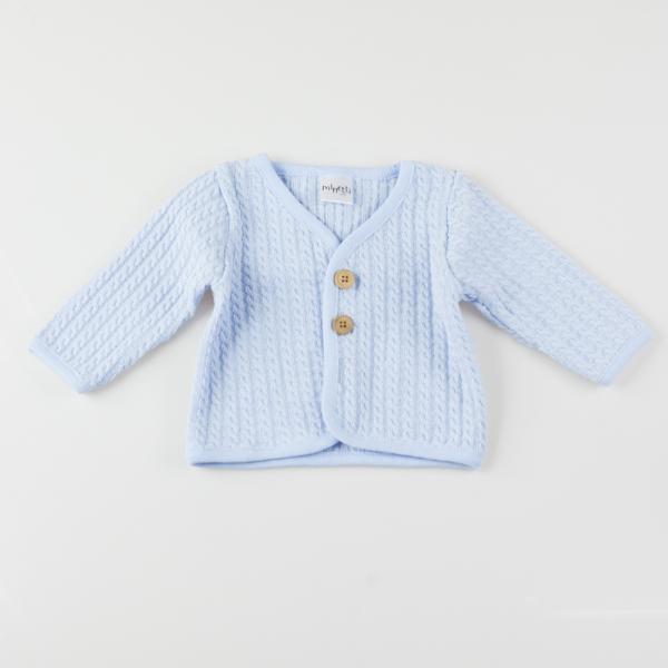 Elegancki zapinany sweter Minetti