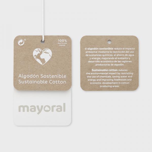 Komplet z leginsami Ecofriends dla dziewczynki na lato 3734 Mayoral