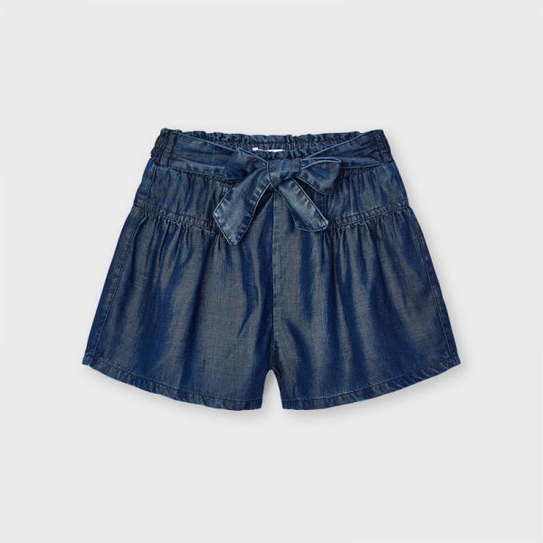 Krótkie spodnie jeansowe Ecofriends dla dziewczynki 3206 MAYORAL