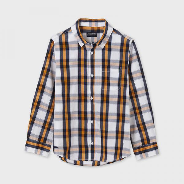 Koszula chłopięca w kratę 6119 Mayoral
