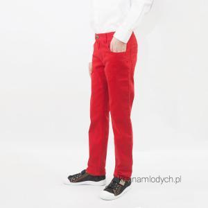 Spodnie rurki chłopięce czerwone  Ratex  016-08, 017-08, 018-08