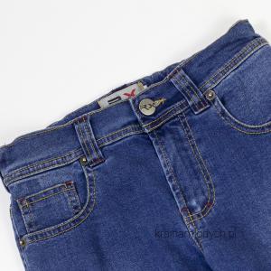 Spodnie rurki chłopięce jeansowe