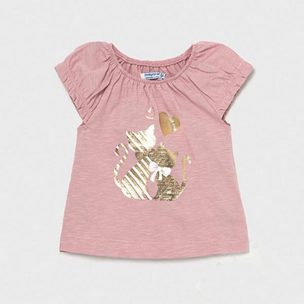 Bluzeczka dla dziewczynki z kotkami 1089 Myoral