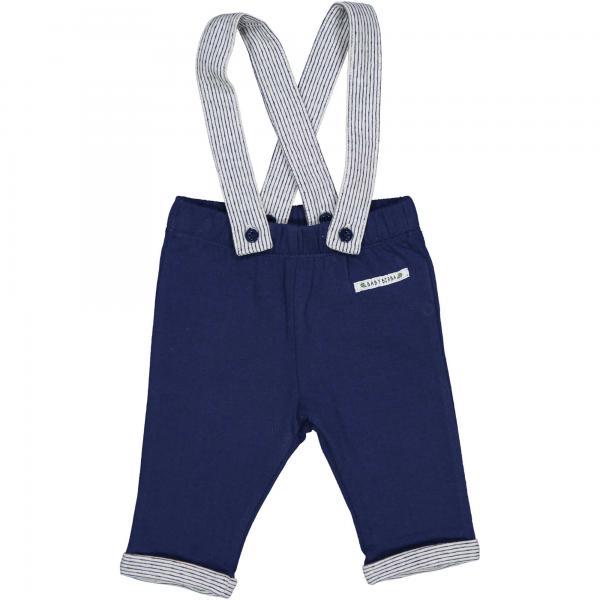 Spodnie niemowlęce z szelkami 22002 Birba