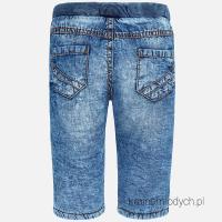 Spodnie ocieplane chłopięce jeansowe 2570 Mayoral