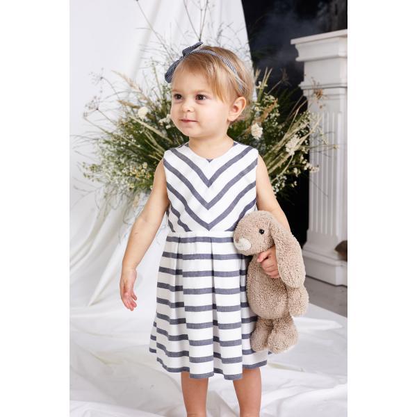Lekka sukienka w paski Emma
