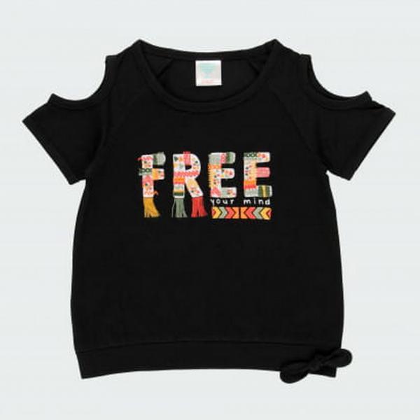 Koszulka top dziewczęca 462002 Boboli