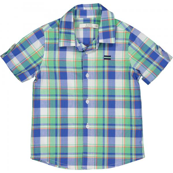 Koszula w kratę dla chłopca 20014 Birba