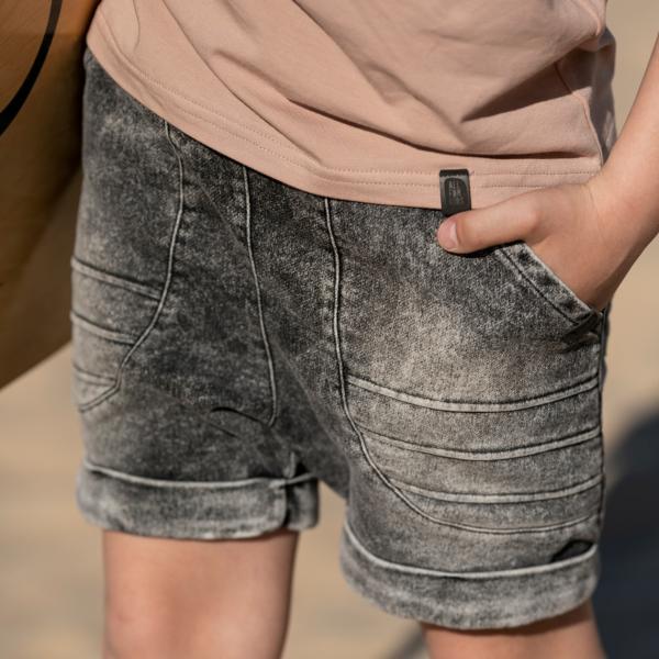Bermudy jeansowe chłopięce Endi
