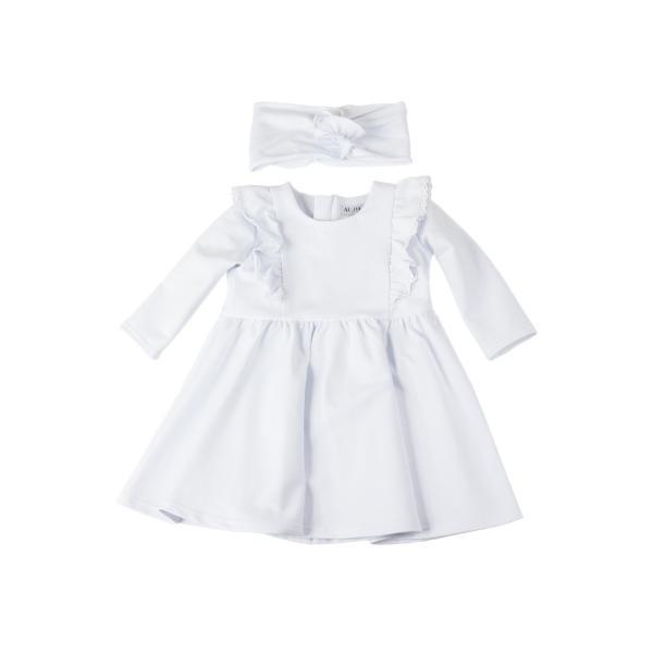 Sukienka z opaską do chrztu Emilia Al-Da