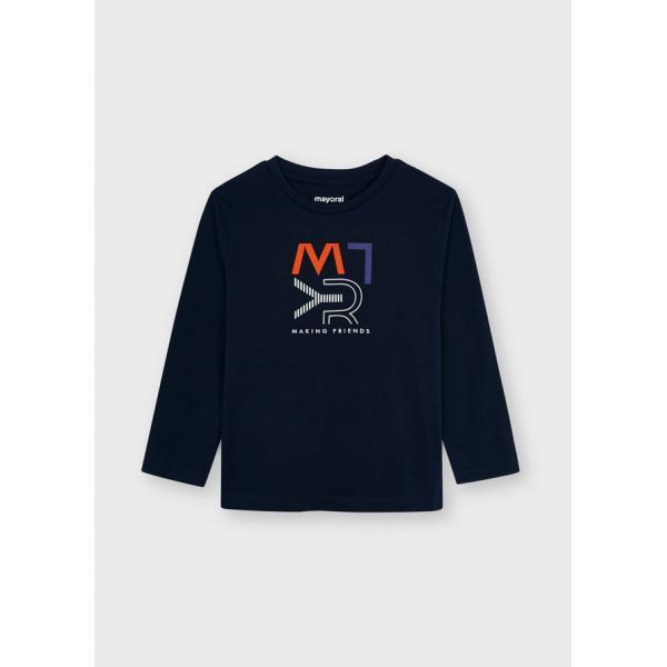 Koszulka chłopięca z nadrukiem 173 Mayoral