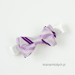 Mucha niemowlęca fioletowa