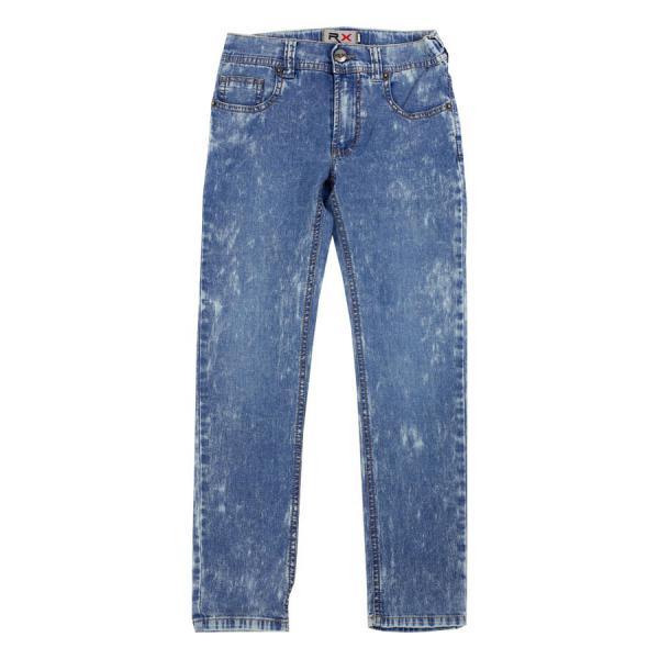 Marmurkowe jeansy chłopięce