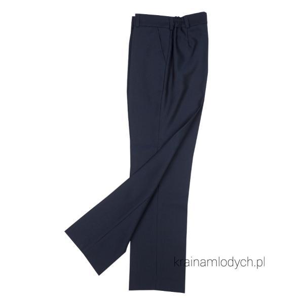 Eleganckie spodnie jankess granatowe
