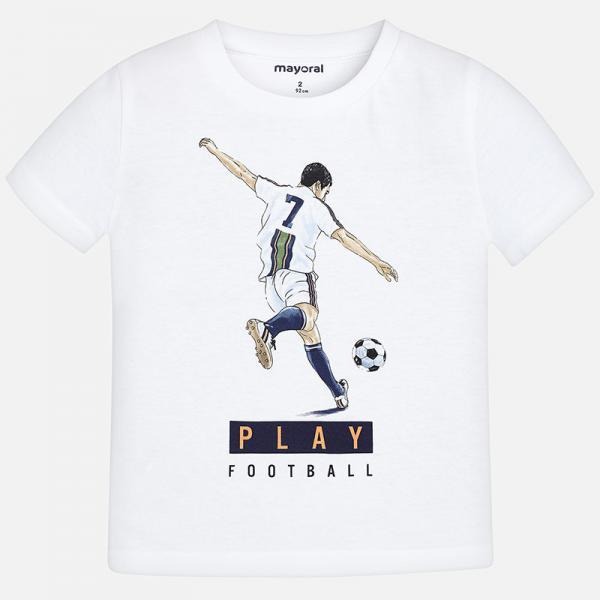 Biała koszulka 3055 Mayoral