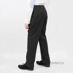 Spodnie garniturowe czarne