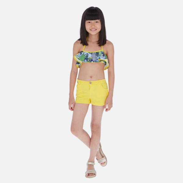Krótkie spodnie dla dziewczynki 6255 MAYORAL
