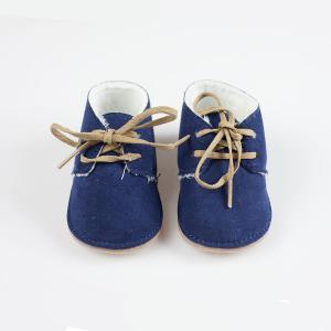 Buty z futerkiem niemowlęce Mayoral 9630