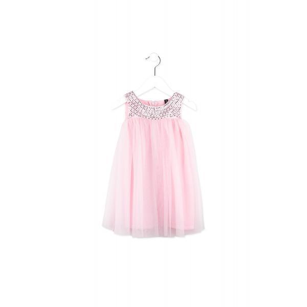 Tiulowa sukienka LOSAN  716-7062AD