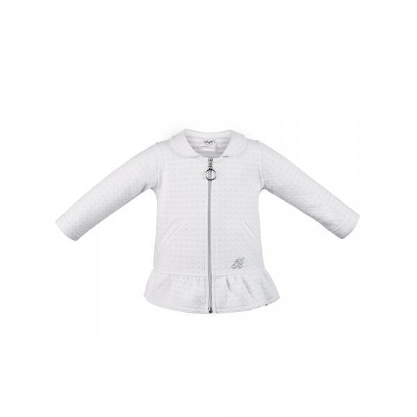 Sweter rozpinany biały Minetti  Aniołeczek Mamuni