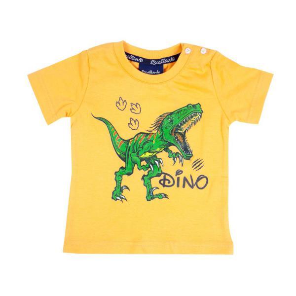 T-shirt chłopięcy dino