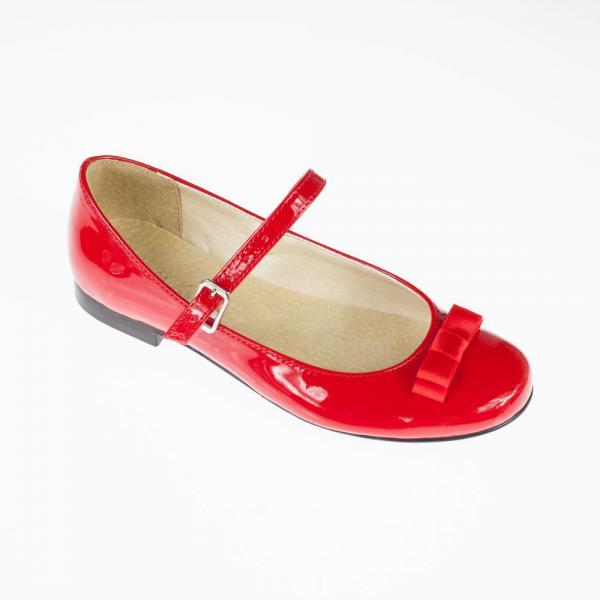 Czerwone baleriny KMK301