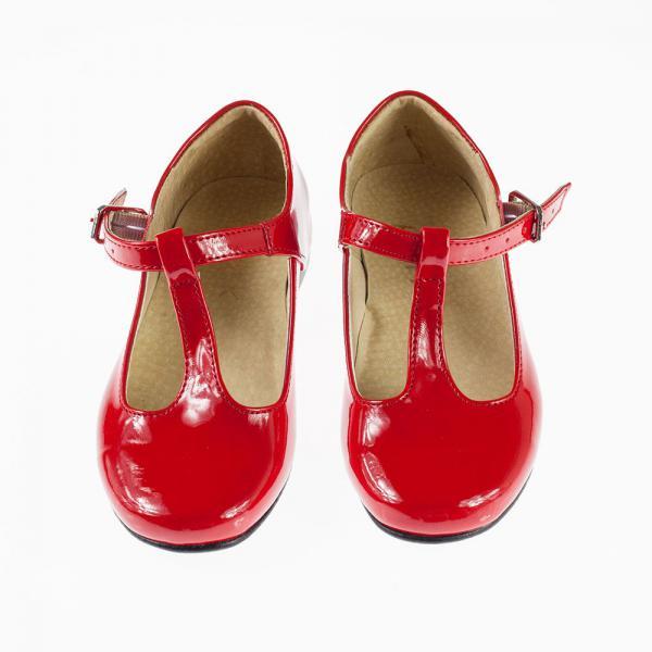 Czerwone pantofelki KMK 192