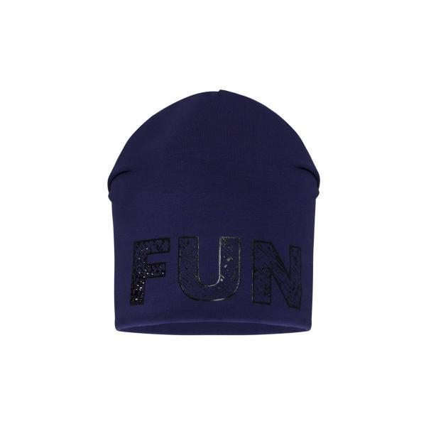 Granatowa wiosenna czapka CU 123 Barbaras