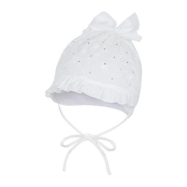 Niemowlęca czapka dla dziewczynki Debora Broel