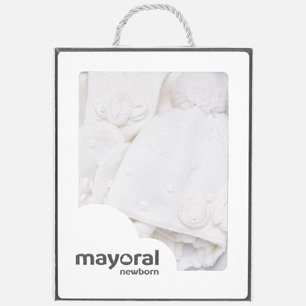 Komplet czapka szalik rękawiczki 9185 Mayoral
