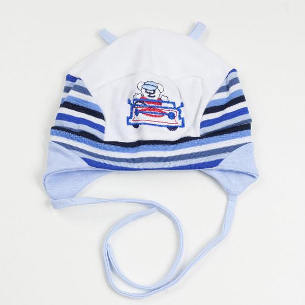 Chłopięca czapka niemowlęca