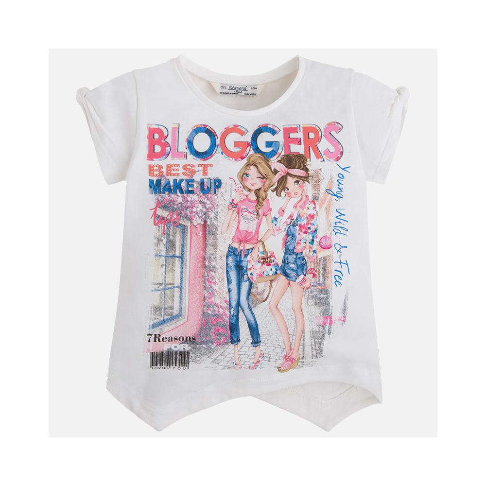 Koszulka dziewczęca 3071 Mayoral