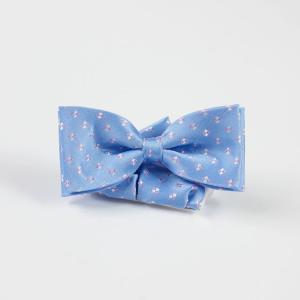 Mucha chłopięca duża niebieska
