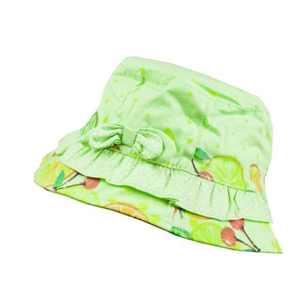 Zielony kapelusik na lato Losan 818-A001AD