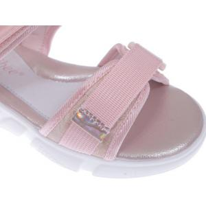 Różowe sandały dziewczęce Z-733p1