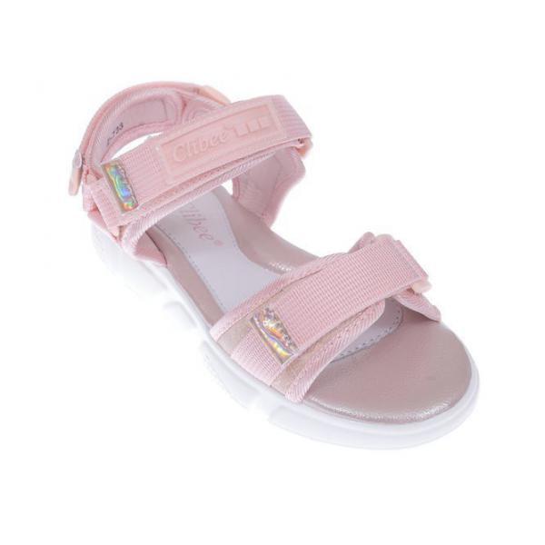 Różowe sandały dziewczęce Z-733pi