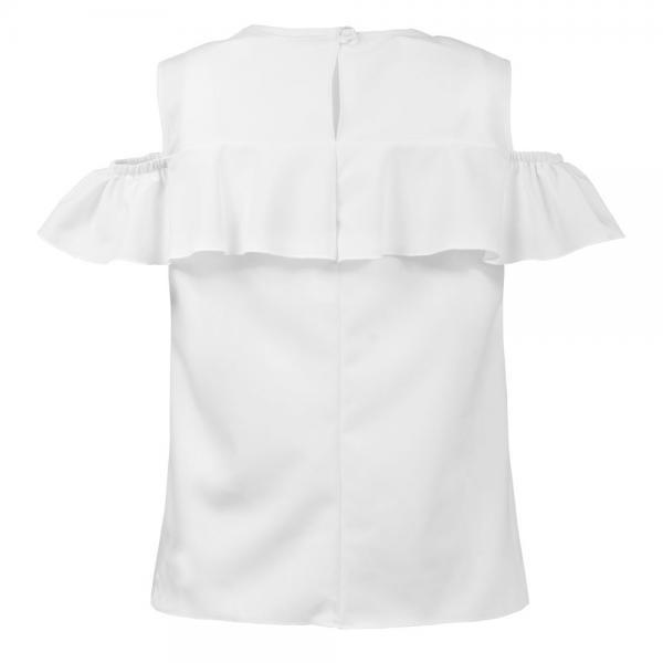 Biała bluzka hiszpanka Marta Al-Da