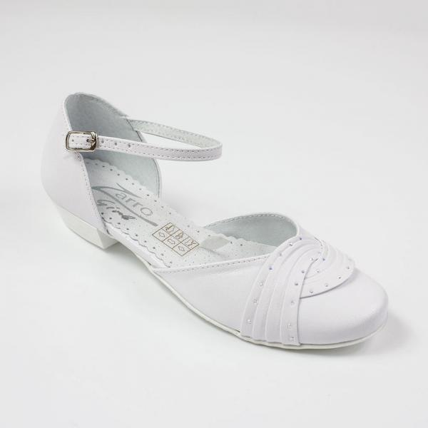 Pantofelki na delikatnym obcasie Zarro 2328