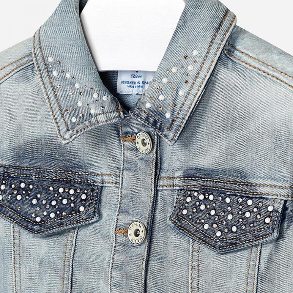 Modna jeansowa kamizelka Mayoral 6304