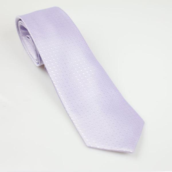 Krawat młodzieżowy jasny fiolet
