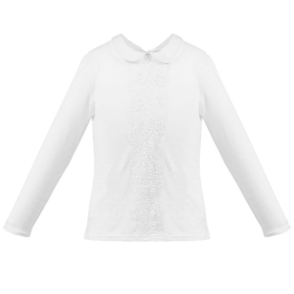 Bawełniana elegancka bluzka z kołnierzykiem Tamara Al-Da