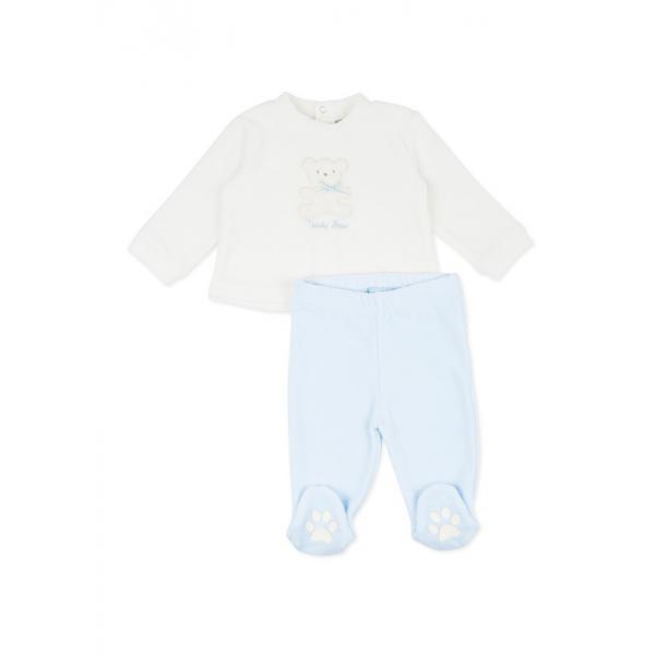 Ciepły komplet niemowlęcy dla chłopca Losan 72v-8007ac