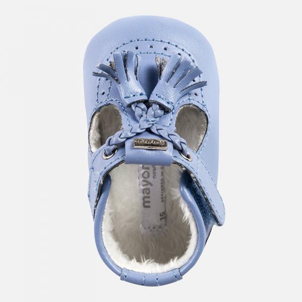 Niebieskie buciki niechodki 9918 Mayoral