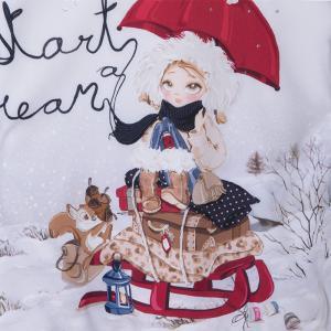 Ciepła zimowa sukienka 4963 Mayoral