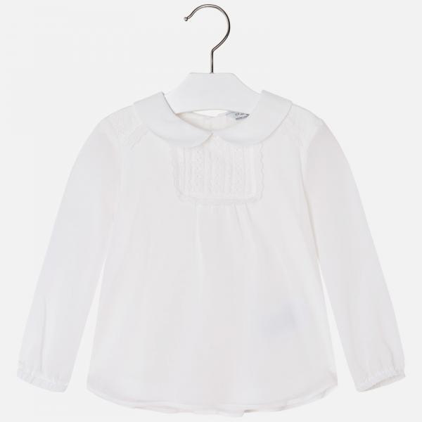 Zwiewna kremowa bluzka Mayoral 4129
